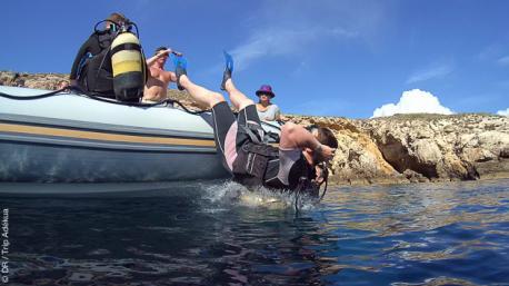 Plongées sur les sites du Parc National de Cala d'Hort à Ibiza