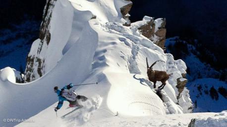 Ski hors pistes en famille sur le domaine des portes du Mont Blanc - Combloux - Megève