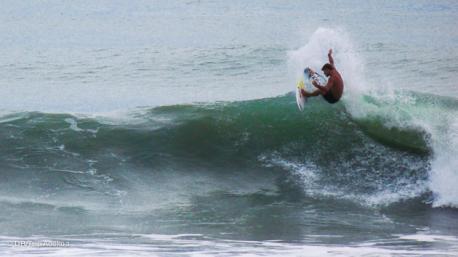 bon surf à Santa Teresa au Costa Rica