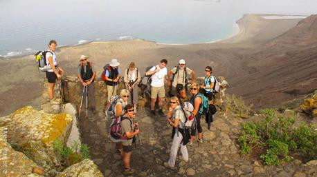 Un séjour trek et randonnée en groupe à Lanzarote