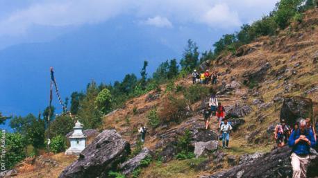 Séjour trekking exceptionnel au Népal avec initiation à la méditation bouddhiste
