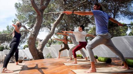 stage de yoga à Ibiza