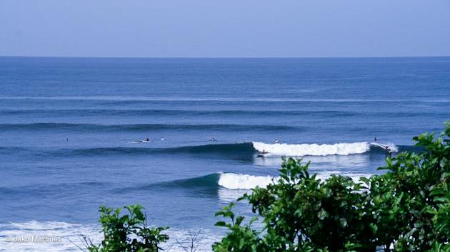 des spots de surf accessibles pour vos vacances surf au Salvador