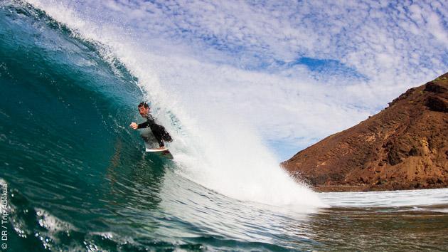 Free surf à Fuerteventura en surfcamp et avec le matériel !