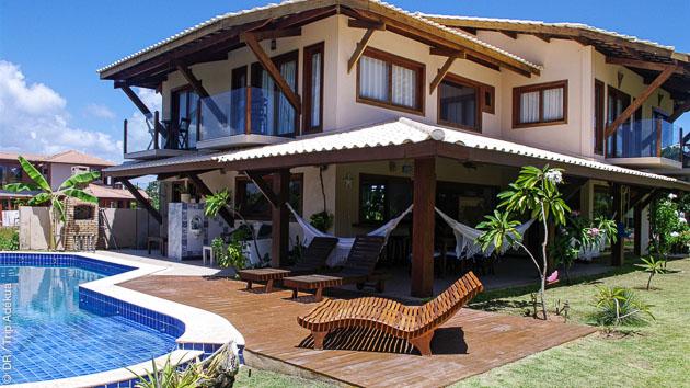 Séjour surf dans une superbe villa à Praia do Forte au Brésil