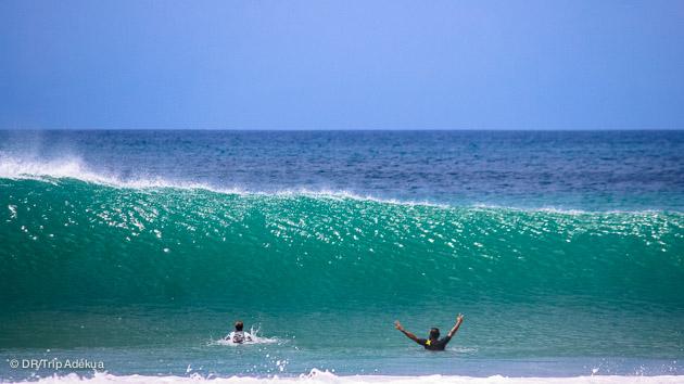 des conditions parfaites pour votre stage de surf au NIcaragua