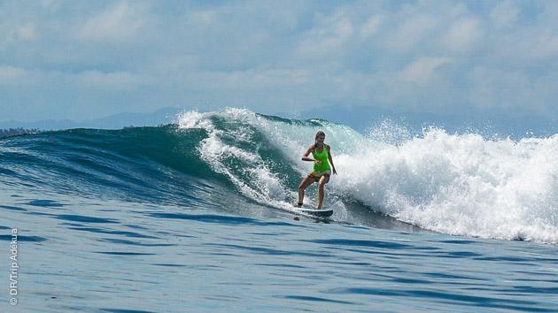 stage de surf sur la meilleure île des Philippines