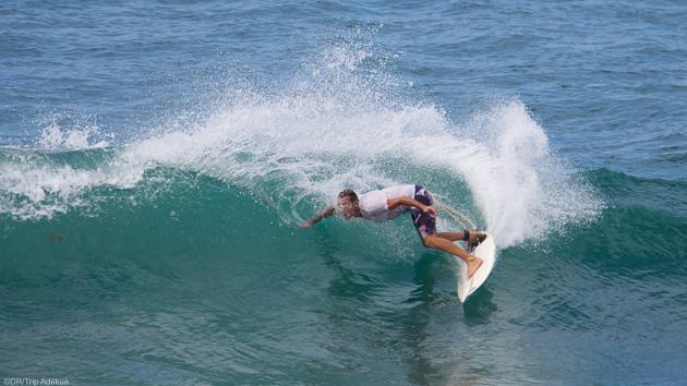 Votre séjour surf sur l'île de la Martinique avec hébergement en studio