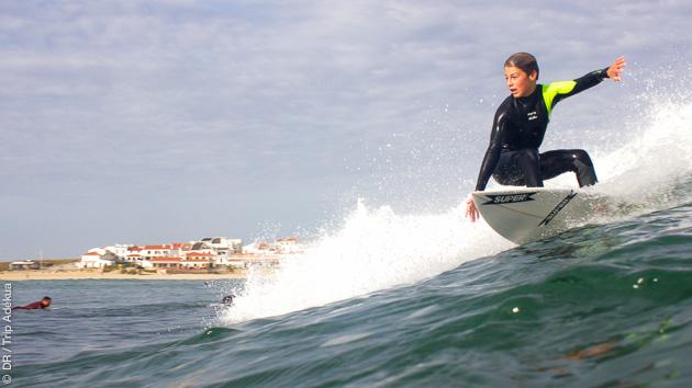 stage de surf à Peniche