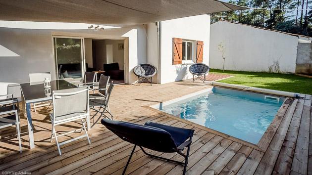 Votre villa pour 8 personnes dans les Landes pour un séjour surf de rêve