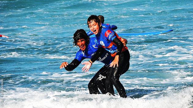 stage de surf en famille aux Canaries