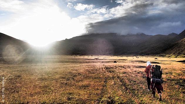 Trekking au coeur du parc national de Los Nevados en Colombie
