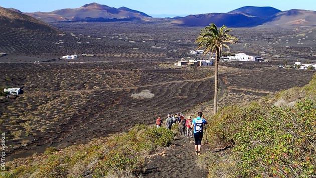 Un séjour entre randonnée pédestre et surf sur l'ile de Lanzarote