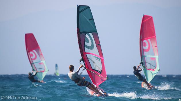 Votre séjour windsurf sur le spot d'Ixia à Rhodes en Grèce