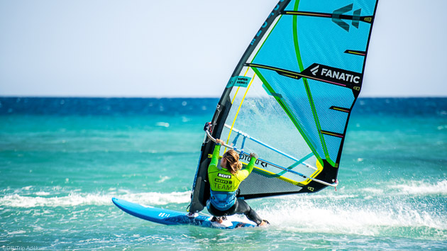 Séjour windsurf sur l'île de Fuerteventura à Sotavento