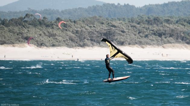 Votre séjour wingfoil avec 25 heures de coaching à Viana do Castelo au Portugal
