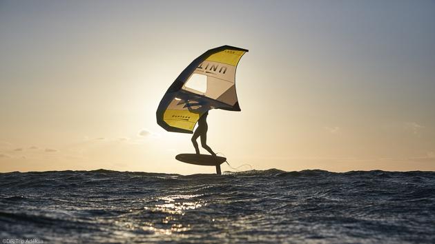 Profitez des cours pour découvrir et progresser en wingfoil et wingsurf