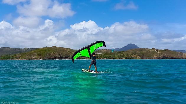 Votre séjour wingfoil à la Pointe Faula en Martinique