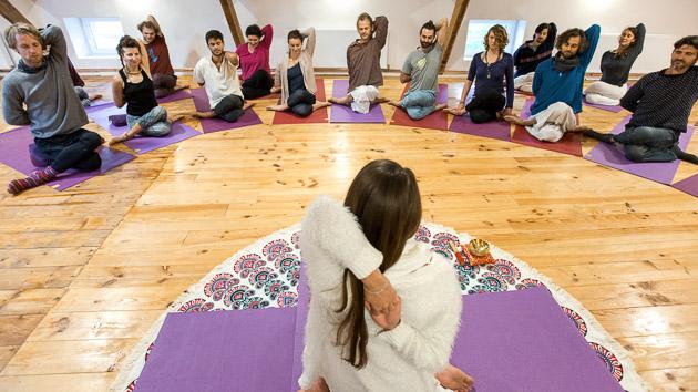 Votre week-end yoga et méditation dans le Beaujolais en France